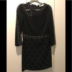 A.L.C taraji dress. Black with studs. Size 8.